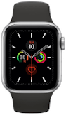 Apple Watch Nike+ Series 5 (GPS) Aluminium 44mm Space Grey