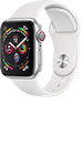 Apple Watch Nike+ Series 4 (GPS) Aluminium 40mm Silver