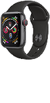 Apple Watch Series 4 (GPS + Cellular) Aluminium 44mm Space Grey