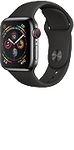 Apple Watch Series 4 (GPS + Cellular) Stainless Steel 44mm Space Grey