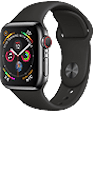 Apple Watch Series 4 (GPS + Cellular) Stainless Steel 40mm Space Grey