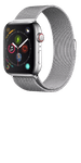 Apple Watch Series 4 (GPS) Stainless Steel 44mm Silver