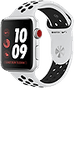 Apple Watch Nike+ Series 3 (GPS + Cellular) 42mm Silver