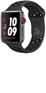 Apple Watch Nike+ Series 3 (GPS) 42mm Space Grey