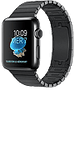 Apple Watch Series 2  Stainless Steel 38mm Black 8GB
