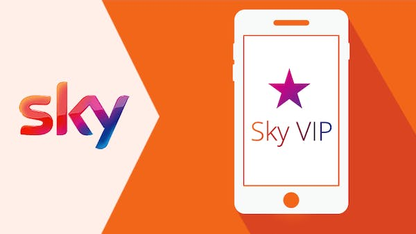 Sky loyalty scheme icon
