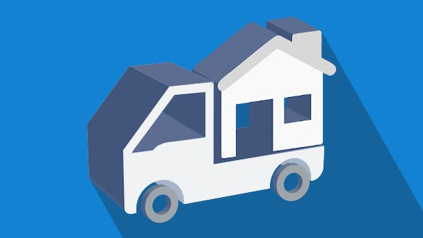 Moving house icon