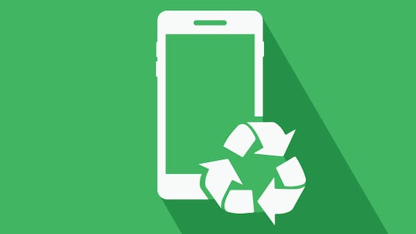 Recycling your mobile icon