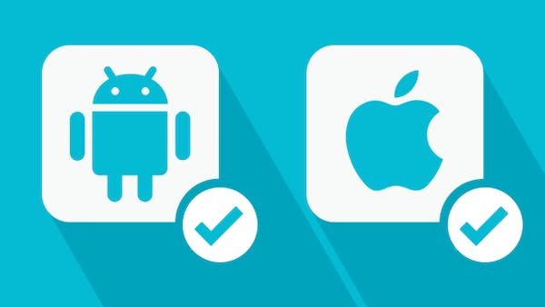 Apps for Android and iPhones icon