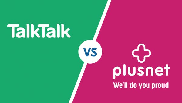 TalkTalk Vs Plusnet logo