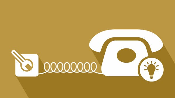 How to get a new phone line installed icon