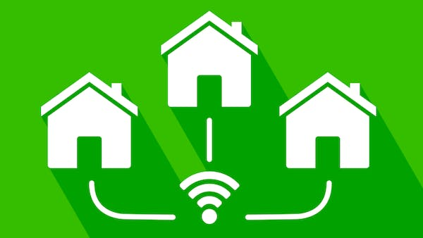 How to set up a local area network icon