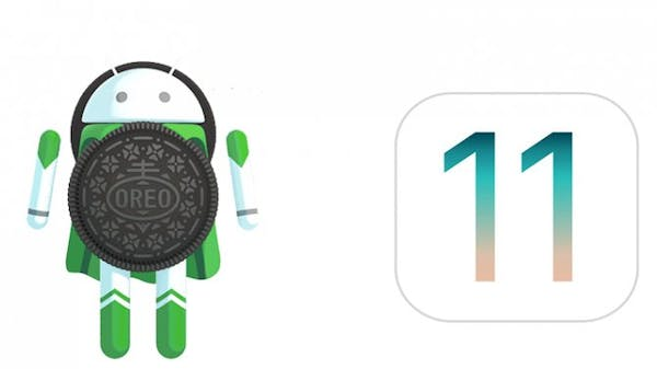 Android and IOS 11 icons