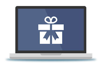 Broadband gifts icon