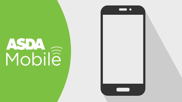 ASDA Mobile logo and mobile