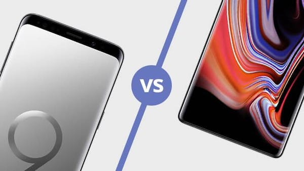 Samsung S9 vs Note 9