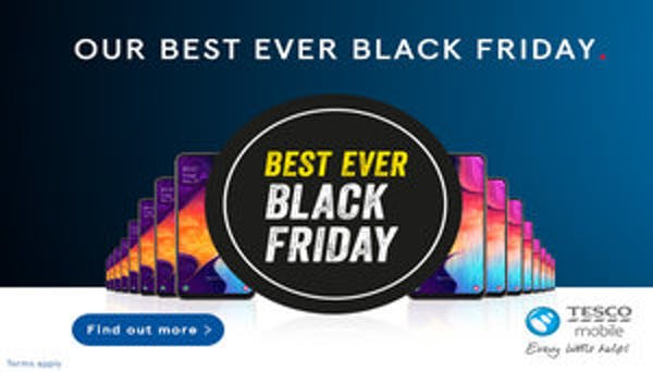 Tesco Mobile Offers Best Ever Black Friday Deals Broadbandchoices